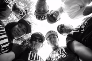 "From the parody video ""Straight Outta Lackland,"" posted by Harry Castaneda"