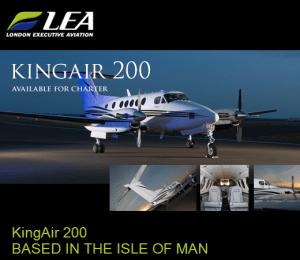 King Air 200 charter UK
