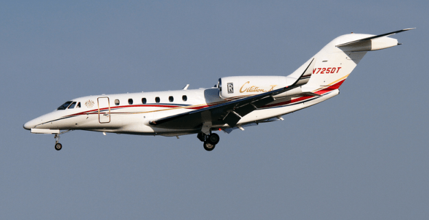 Trump Citation X business jet