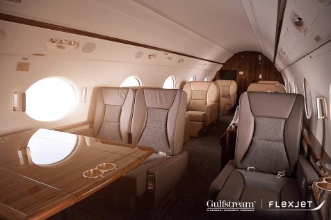 Flexjet Gulfstream G450 Cabin