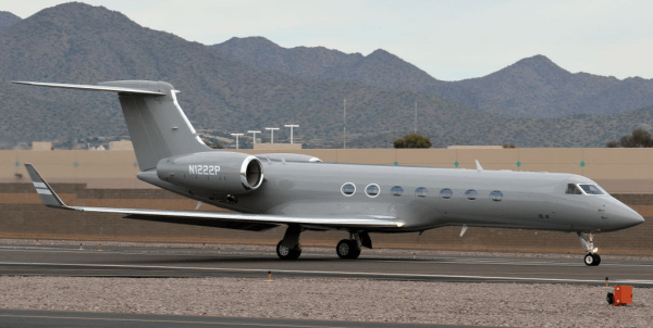 Sun Air Jets' new Gulfstream V to charter fleet