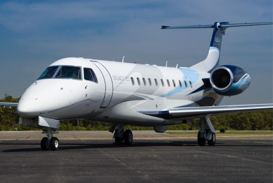 Legacy 600  based New York available for charter.
