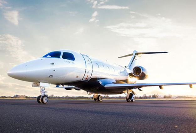 Orlando-based Legacy 450 operated by Solairus Aviation