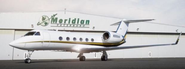 Gulfstream IV-SP now available for charter with Meridian