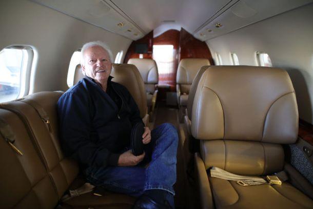 ATI Jet's Learjet 60 cabin