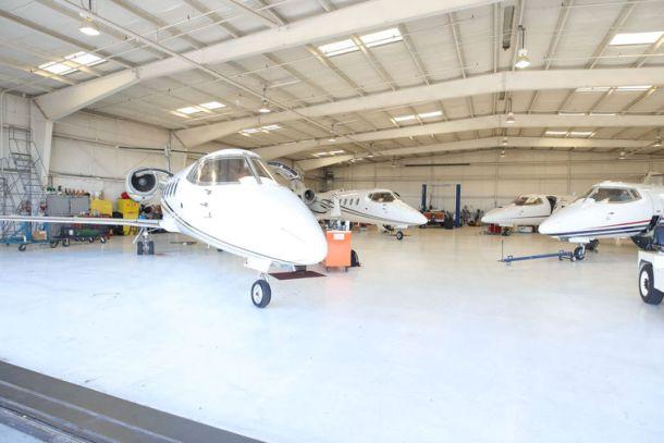 ATI Jet private fleet of charter Learjets.
