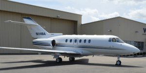 New to charter, Hawker 800XP based KTEB operated by Voyager Jet Center