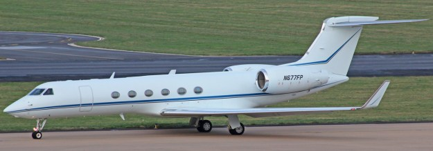 PHOTO Gulfstream V new to charter with operator Prime Jet