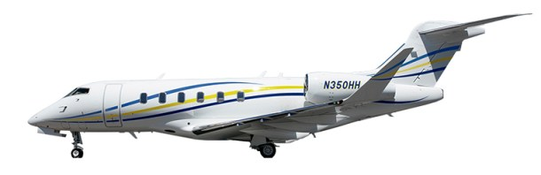 New to charter, 2018 Challenger 350 based KSNA Santa Ana, CA operated by Latitude 33.