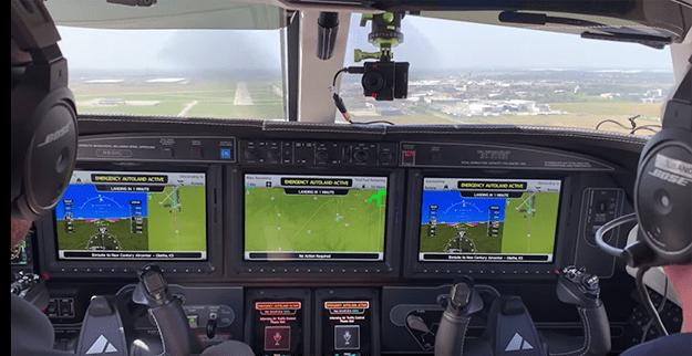 Garmin Autoland Automatic Landing