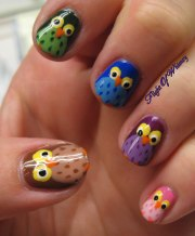 owl of color flight