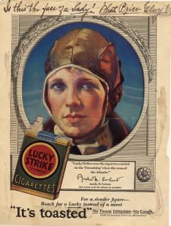 Earhart Cig ad