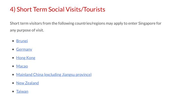 Singapore travel bubble open Sep 2021