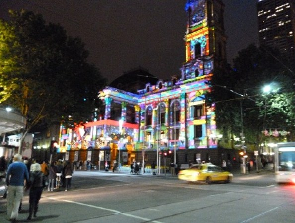 Animated Melbourne Town Hall