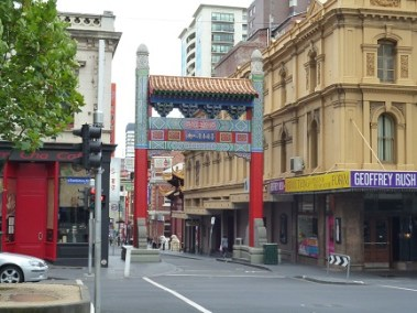 Little Bourke Street Also Known As China Town