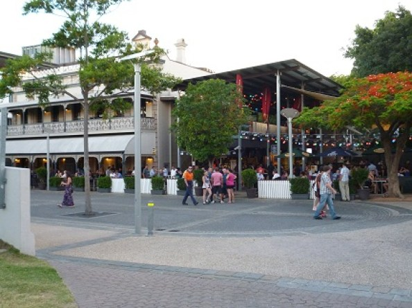 Some Of The Bars On Brisbanes South Bank