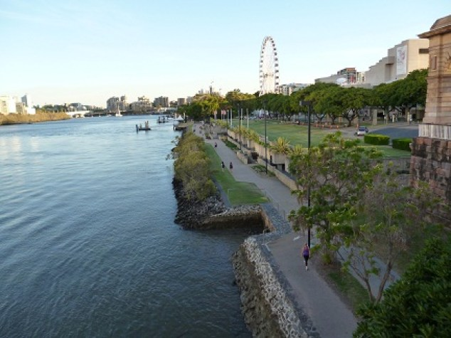 South Bank Riverside Walkway