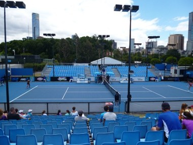 Tennis At Melbourne Park
