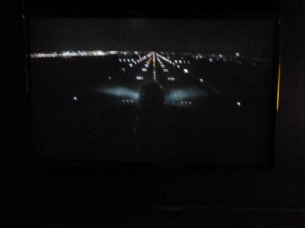 Watching Us Take Off On Screen Via The ICE System