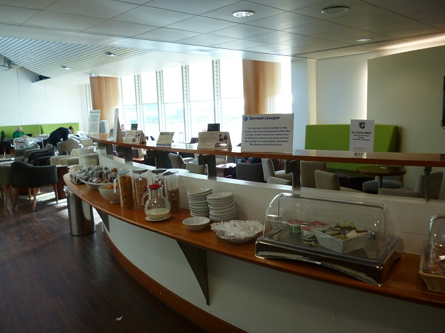 Breakfast Selection At The Bollin Lounge