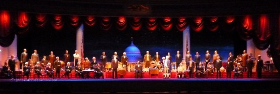 The Hall of Presidents at Disney World