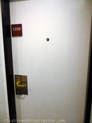 Normal bedroom door