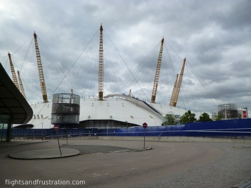 The famous Millenium Dome now known as The O2 Arena