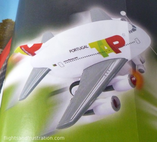 Toy TAP Portugal aircraft