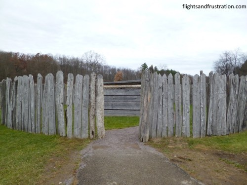 Entering the Fort where Washington lost