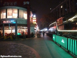 Hongmei Lu Shanghai – Drinking On The Hongmei Pedestrian Street