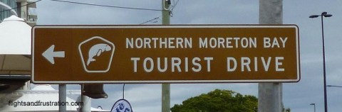 The Northern Moreton Bay Tourist Drive north of Brisbane