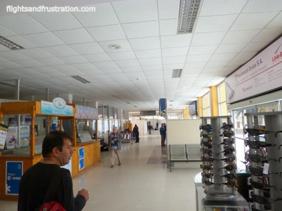 A limited shopping experience at Antofagasta Airport