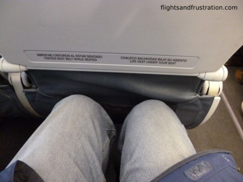 My LAN Airlines Review identified little leg room in Economy Class