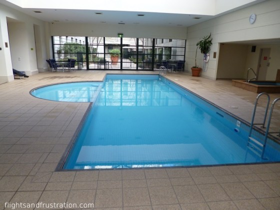 Swimming pool at The Grand Hotel Melbourne - hotels melbourne cbd