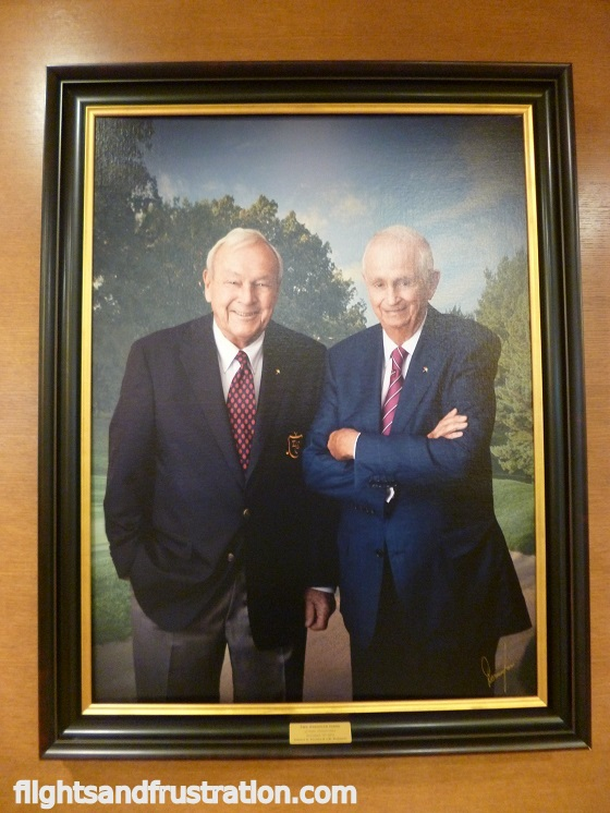 Arnold Palmer and J W Marriott