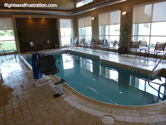 Swimming pool at Spring Hill Suites Latrobe PA