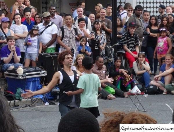 Look at me at Buskerfest Toronto