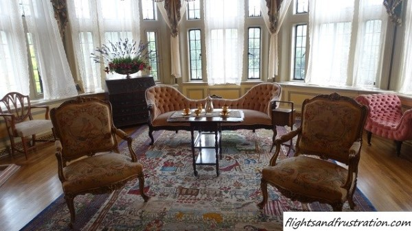 Lady Mary Pellatt's Sitting Room inside Canada's Castle
