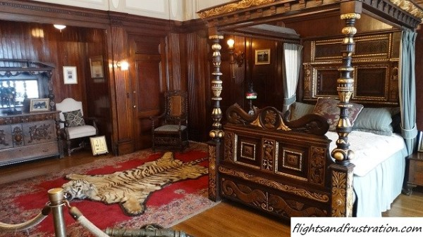 Sir Henry Pellatt's Suite and tiger rug
