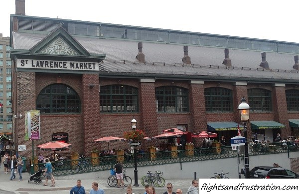St Lawrence Market in downtown Toronto