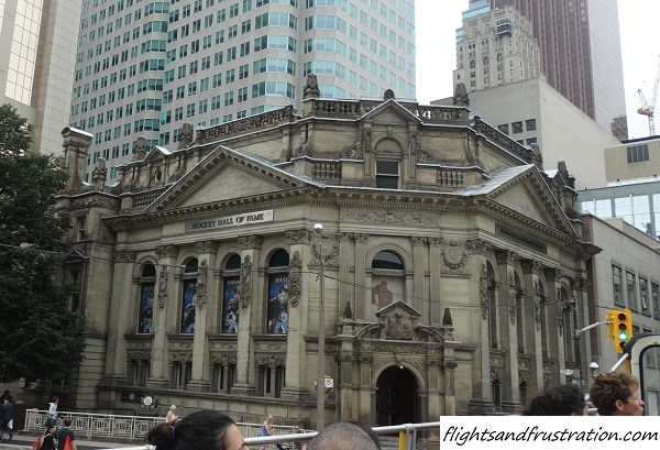 Downtown Toronto Attractions - The Hockey Hall of Fame and residence of The Stanley Cup