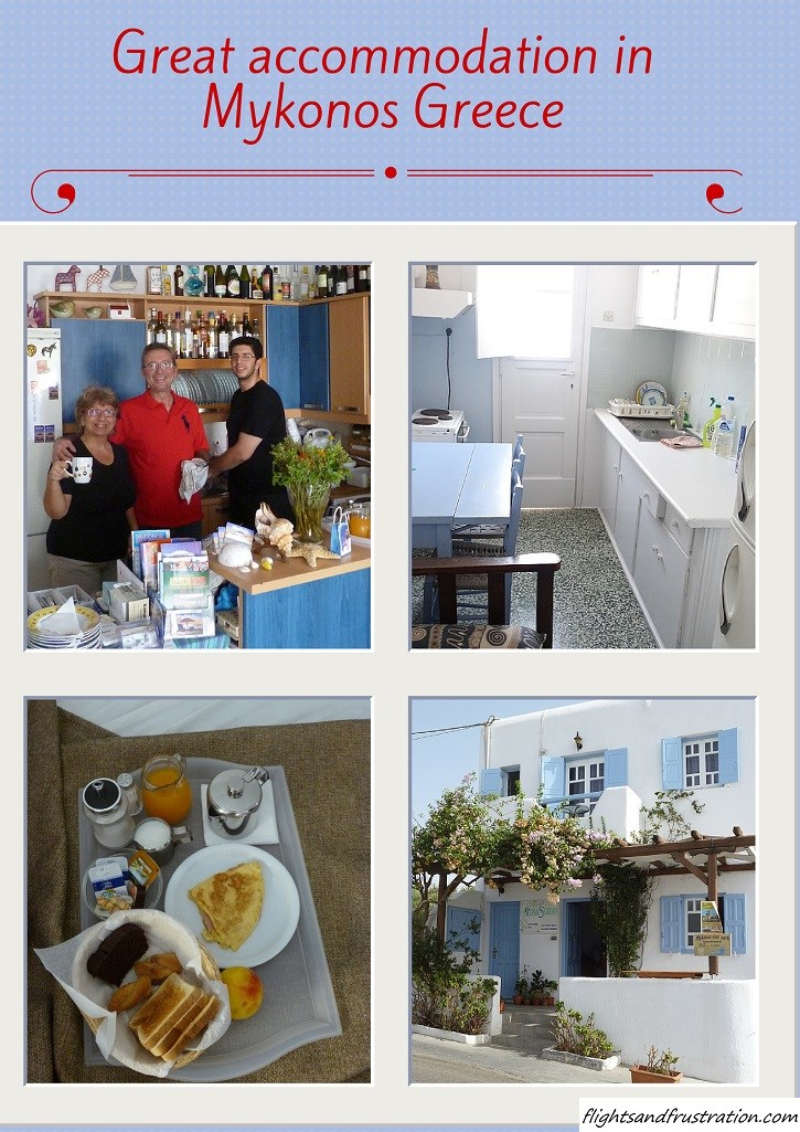 Looking where to stay in Mykonos Greece. Here is some great accommodation in Mykonos Greece