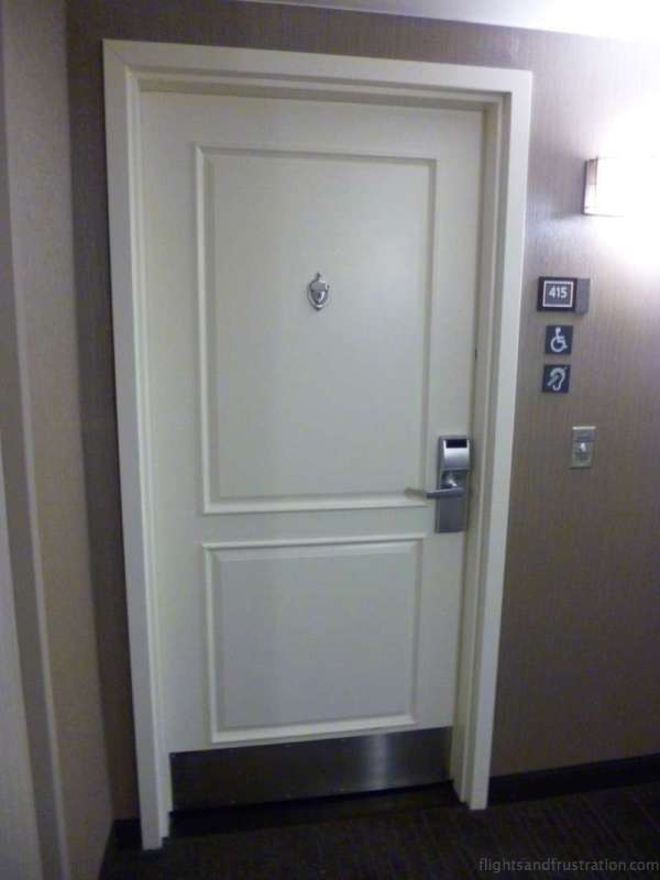 Bedroom doors look like your in a condo at The Residence Inn by Marriott - best hotels in daytona beach