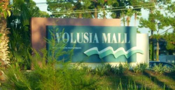 Volusia Mall is walking distance from the Residence Inn - best hotels in daytona beach