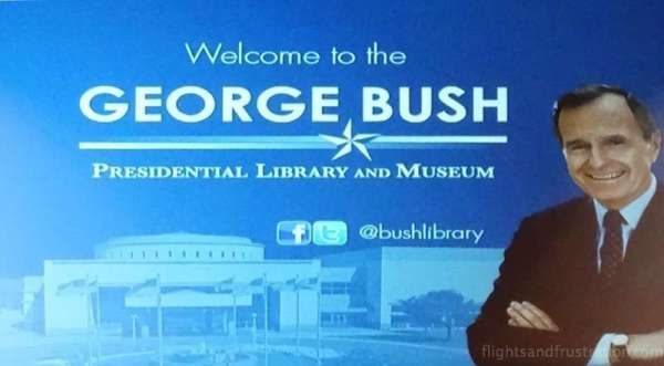 Welcome to the George Bush Presidential Library and Museum at Collage Station Texas