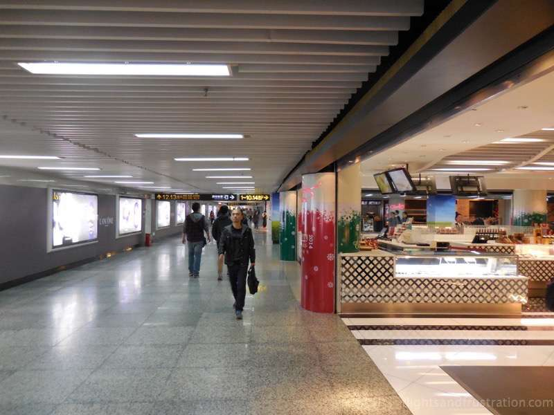 You will often find shops at the Shanghai Metro stations