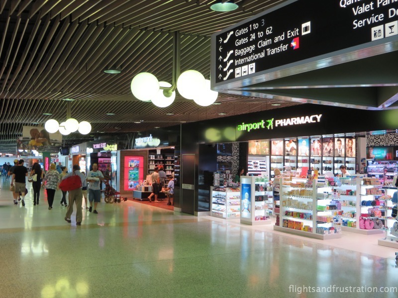 Get your medical supplies at Brisbane Airport Domestic Terminal