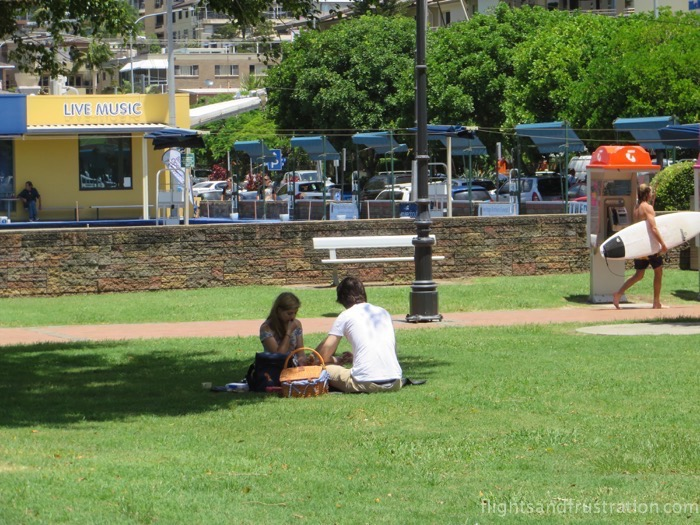 Have a picnic whilst enjoying Burleigh Heads attractions