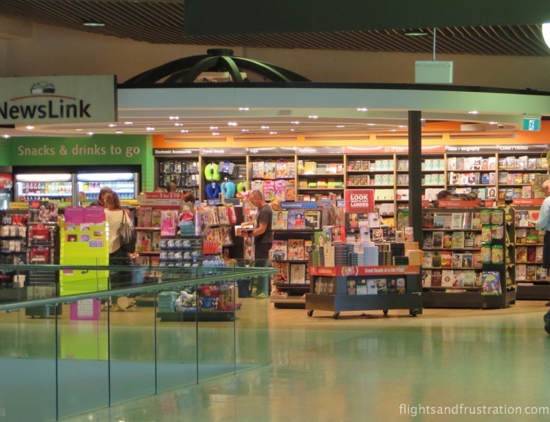 Newsagent at Brisbane Airport Domestic Terminal
