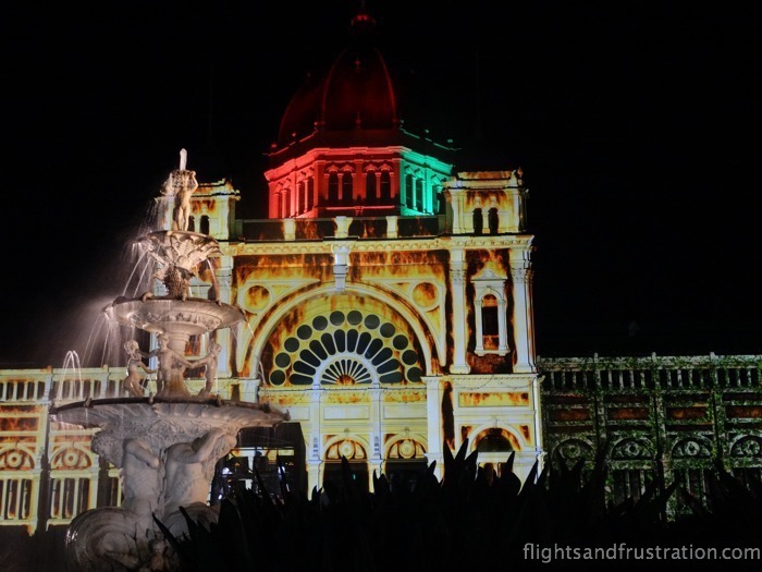 The fire is spreading at White Night Melbourne